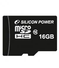 Карта памяти Silicon Power microSDHC 16 GB class 10
