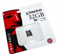 Карта памяти Kingston microSDHC 32GB UHS-I class 10 без адаптера